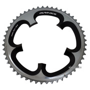Shimano Dura-Ace FC-7900 130mm BCD 5 Arm Outer Chainring - Silver/Grey - 52T-B
