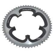 Shimano Dura-Ace FC-7900 130mm BCD 5 Arm Outer Chainring - E Type - Grey - 56T