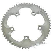 Shimano Dura-Ace FC-7800 130mm BCD 5 Arm Outer Chainring - Silver - 55T-A