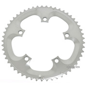 Shimano Dura-Ace FC-7800 130mm BCD 5 Arm Outer Chainring - Silver - 53T-A