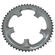Shimano Ultegra FC-6700 130mm BCD 5 Arm Outer Chainring - B Type - Silver - 53T