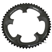 Shimano Ultegra FC-6700 130mm BCD 5 Arm Outer Chainring - B Type - Glossy Grey - 52T
