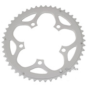 Shimano Tiagra FC-4550 110mm BCD 5 Arm Outer Chainring - F Type - Silver - 50T