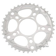 Shimano Tiagra FC-4603 130mm BCD 5 Arm Middle Chainring - D Type - Silver - 39T