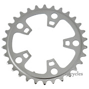 Shimano Tiagra FC-4603 92mm BCD 5 Arm Inner Chainring - D Type - Silver - 30T