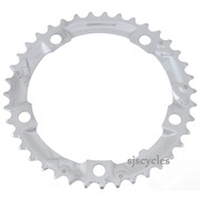 Shimano Sora FC-3403 130mm BCD 5 Arm Middle Chainring - Silver - 39T