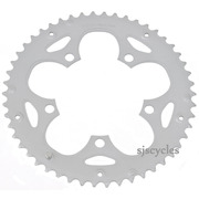 Shimano FC-2350 110mm BCD 5 Arm Outer Chainring - F Type - Silver - 50T