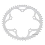 Shimano FC-2300 130mm BCD 5 Arm Outer Chainring - B Type - Silver - 52T