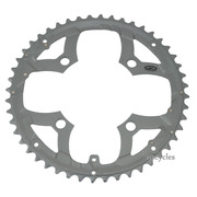 Shimano Deore FC-M590 104mm BCD 4 Arm Outer Chainring - Grey - 48T - For Chainguard