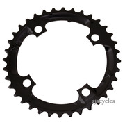 Shimano Deore FC-M590 104mm BCD 4 Arm Middle Chainring - Black - 36T