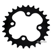 Shimano Deore FC-M590 64mm BCD 4 Arm Inner Chainring - Black - 26T
