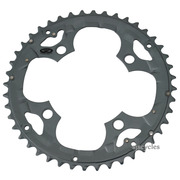 Shimano Deore FC-M590 104mm BCD 4 Arm Outer Chainring - Grey - 44T - For Chainguard