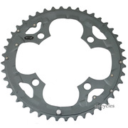 Shimano Deore FC-M590 104mm BCD 4 Arm Outer Chainring - Grey - 44T