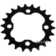 Shimano Deore FC-M590 64mm BCD 4 Arm Inner Chainring - Black - 22T