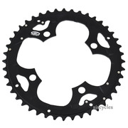 Shimano Deore FC-M530 104mm BCD 4 Arm Outer Chainring - Black - 44T - For Chainguard