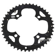 Shimano Deore FC-M530 104mm BCD 4 Arm Outer Chainring - Black - 44T