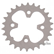 Shimano Deore FC-M530 64mm BCD 4 Arm Inner Chainring - Silver - 26T
