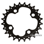 Shimano Deore FC-M590-10 64mm BCD 4 Arm Inner Chainring - AE Type - Black - 24T