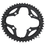 Shimano SLX FC-M660 104mm BCD 4 Arm Outer Chainring - Black - 48T