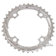 Shimano SLX FC-M660 104mm BCD 4 Arm Middle Chainring - Silver - 36T