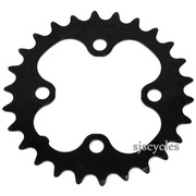 Shimano SLX FC-M660 64mm BCD 4 Arm Inner Chainring - Black - 26T