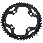 Shimano SLX FC-M660 104mm BCD 4 Arm Outer Chainring - Black - 44T