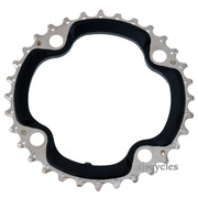 Shimano SLX FC-M660 104mm BCD 4 Arm Middle Chainring - Black - 32T