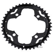Shimano SLX FC-M660-10 104mm BCD 4 Arm Outer Chainring - AE Type - Black - 42T