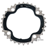 Shimano SLX FC-M660-10 104mm BCD 4 Arm Middle Chainring - AE Type - 32T , A
