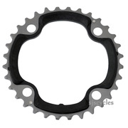 Shimano XTR FC-M970 104mm BCD 4 Arm Middle Chainring - 32T-AB