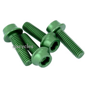 Token Aluminium Bolts for Bottle Cages - M5 x 16 mm