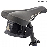 Axiom Sierra LX Saddle Bag - Black/Grey - 0.75 Litre