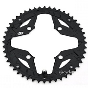 Shimano Alivio FC-M431-8 104mm BCD 4 Arm Outer Chainring - Black - 48T