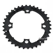 Shimano Alivio FC-M431-8 104mm BCD 4 Arm Middle Chainring - Black - 36T