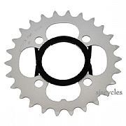 Shimano Alivio FC-M431-8 64mm BCD 4 Arm Inner Chainring - Silver - 26T