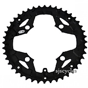 Shimano Alivio FC-M430-8 104mm BCD 4 Arm Outer Chainring - Black - 44T - For Chainguard