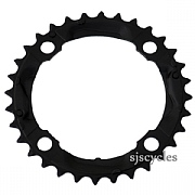 Shimano Alivio FC-M430-8 104mm BCD 4 Arm Middle Chainring - Black - 32T
