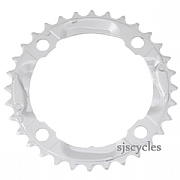 Shimano Alivio FC-M430-8 104mm BCD 4 Arm Middle Chainring - Silver - 32T