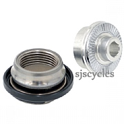 Shimano XTR WH-M985 Front Left Lock Nut, Cone & Dust Cover - Y27W98030