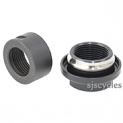 Shimano Saint FH-M810 Rear Left Lock Nut, Cone & Dust Cover - M15 - Y3D498060