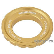 Shimano Saint HB-M810 Front Left Lockring & Washer - Y26N98030