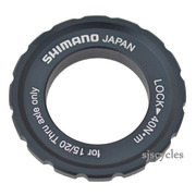 Shimano XTR HB-M988 Front Right Lock Ring & Washer - Y27X98050