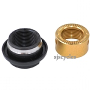Shimano Saint FH-M820 Rear Left Lock Nut Cone & Dust Cover - M15 - Y3TM98050