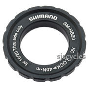 Shimano Deore XT HB-M776 Front Left Lock Ring & Washer - Y26L98030