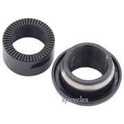 Shimano ZEE FH-M640 Rear Left Lock Nut, Cone & Dust Cover - M15 - Y3TS98050