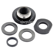 Shimano Deore HB-M595 Front Left Lock Nut Unit - Y2TS98030