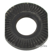 Shimano Alivio HB-MC10 Front Serrated Lock Nut - 3mm - 21H 0811