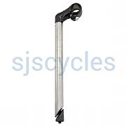 Quill handlebar stem 22,2mm short clamp 200mm silver Humpert bike