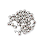 Shimano Deore XT WH-M778-F Steel Ball Bearings, 5/32 Inch - 34pcs - Y4FE98030