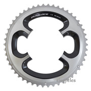 Shimano Dura-Ace FC-9000 110mm BCD 4 Arm Outer Chainring - 50T-MA